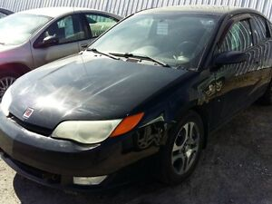 2005 Saturn Ion Quad Coupé automatique, mags, climatiseur, group