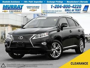 2013 Lexus RX 350 *Accident Free, Leather Seats, Keyless Entry*