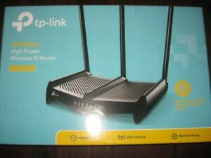 TP Link N450 WiFi Wireless Router / WiFi Range Extender / Access Point. High Power Amplifier. TV Android Box Streaming