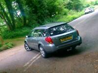Subaru outback 3 litre lpg gearbox noisy