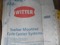 witter 2/3 cycle towbar carrier.