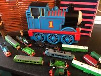 THOMAS THE TANK TRAINS AND CARRYCASE