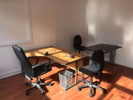 3 Desk - Office available to rent with an excellent reduced rental offer, Call on 02089611415