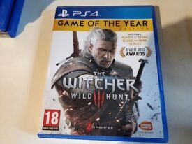 The Witcher 3 Game of The Year PS4 - Soho, Clapham, Brixton