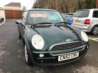 ***MINI COOPER 1.6 Petrol 2002 ONLY 72,000 MILES***