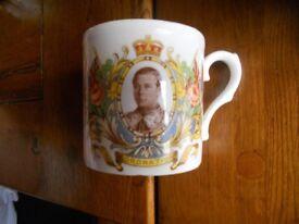 Edward VIII coronation mug May 1937