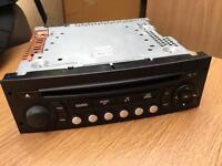 2007 Peugeot 207 CD/Radio Player