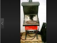 Secondhand Flamefast brazing hearth
