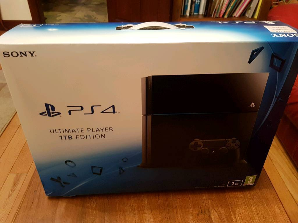 PS4 1TB with controllers, games & PS TV