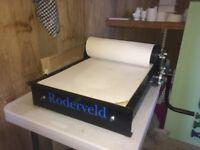 RODERWELD JUMBO Junior 40 Clay Slab Roller Good as New