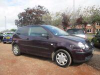 VW POLO 2002 1.4 LTR PETROL 1 YEAR FRESH MOT WARRANTIED VERY CLEAN CAR !!!