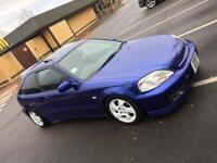 1999 T reg Honda Civic Vti facelift ek4 type r gti