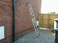 SMALL ALUMINIUM LADDER