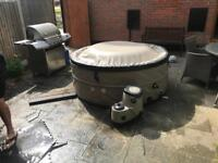 Canadian hot tub