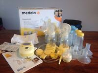 Medela freestyle electric 2 phase double breastpump