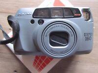 PENTAX ESPIO 160 35MM FILM CAMERA~PANORAMA~38-160MM SMC LENS~FLASH MODES