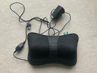 Back and shoulder massager with heat