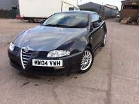 2004 Alfa Romeo GT 1.9 Multijet, Full Red Leather, 12 Months Mot, Drive Away Today!Bargain!!!