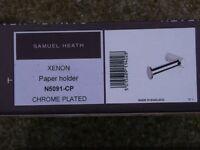 Samuel Heath Xenon Toilet roll holders N5031 and N5091