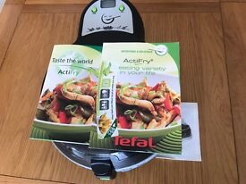 Tefal Actifry with Instructions/Recipes and Box