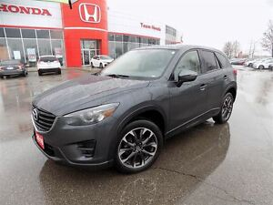 2016 Mazda CX-5 GT... 1 OWNER.. LOADED.. LEATHER.. NAV.. AWD