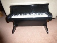 Viga My First Wooden Piano - Black