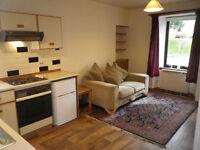 KIRKBRAE, GALASHIELS: Bright one-bed ground floor flat £290 pcm + £290 deposit