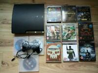 Ps3, 160gb, controller and 13 games