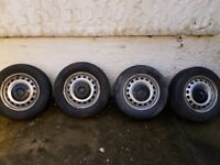 Genuine Vw caddy wheels