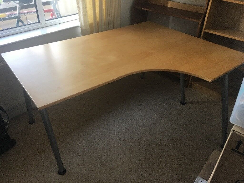 large l shaped office desk. Large L-Shaped Office Computer Desk Great Condition L Shaped