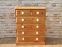 Unique Chest of Drawers with ceramic large handles (Delivery)