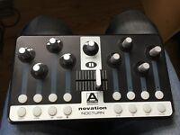 Novation Nocturn MIDI controller - control plugins with Automap