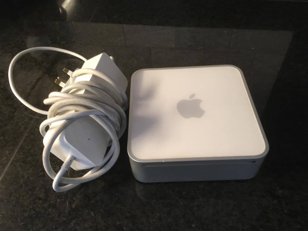Apple Mac Mini Early 2009, 2ghz, 4gb ram, 120Gb hard dive, GeForce 9400 graphics