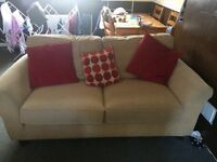 Hi 2 seater M&S sofa for sale , make me an offer thanks
