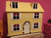 Lovely wooden doll's house