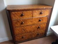 Solid Antique Chest of Drawers