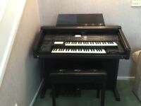 Electric Organ in full working order and good condition with instruction manuals