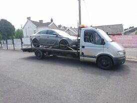 Based In South Wales / UK & European Breakdown Recovery Car Transport Collections