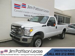 2015 Ford F-250 6.2L 4X4 XL Reg. Cab Long Box w/LOW KM's