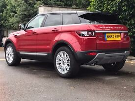 Land Rover Range Rover Evoque 2.2 SD4 Prestige LUX 4x4 5dr with extra options
