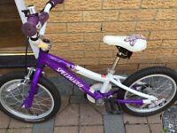 Girls specialized mountain bike