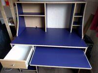 IKEA Robin blue computer desk