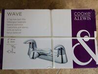 BARGAIN - Brand New Bath Mixer Taps - Cooke & Lewis - Still Boxed