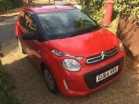 2014 64 Citroen c1 ltd edition touch 1.0 68bhp 39,000 miles