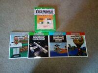 Minecraft set of books in tin. Building handbooks