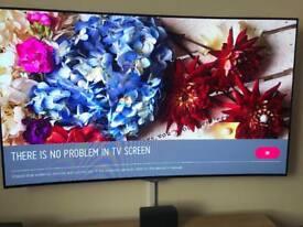 "55"" LG CURVED OLED TV"