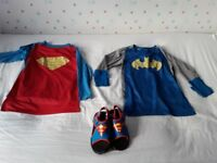 BOYS Super Hero Clothes Age 5-6yrs ***EXCELLENT CONDITION***