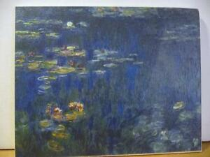 """Claude Monet """"Green Reflections"""" Painted 1920 Art Print Stratford Kitchener Area image 1"""