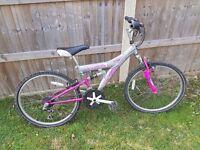 Used Girls Mountain Bike
