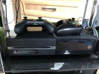 Xbox one 2 pads, games